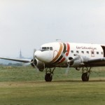 DC3 G-AMPI Air Atlantique