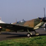 Spitfire IX MH434 OFMC [represents mk I for filming 'A Piece of Cake'] #2