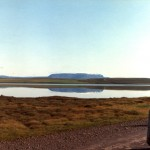 Blafjall reflected in Masvatn - 01