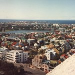 Reykjavik from Hallcrimskirka tower - 02