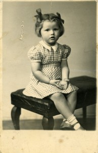 Gill aged 3