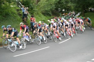 Tour of Britain, North Cheshire stage, Mobberley